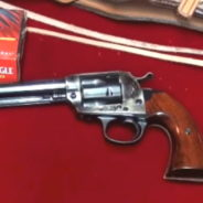 Cimarron Bisley Single Action Revolver .45 LC Model