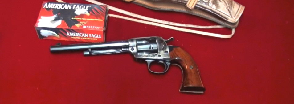 Cimarron Bisley Single Action Revolver .45 LC Model