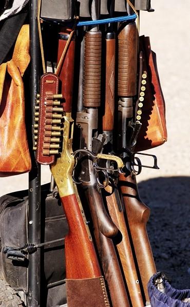 cowboy action shooting rifles and shotguns