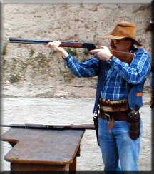 cowboy action shooting participant