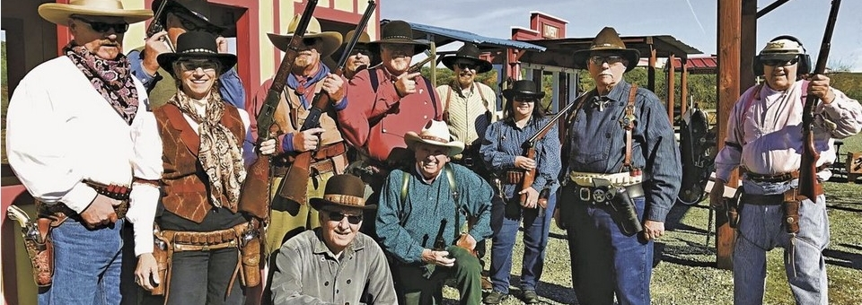 Old West Cowboy Shooting at Sacramento Valley Shooting Center