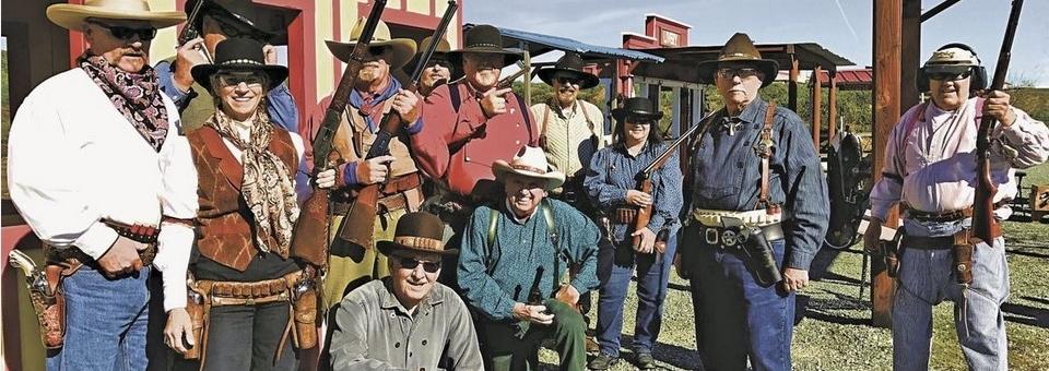 Old West Cowboy Shooting at Sacramento Valley Shooting Center