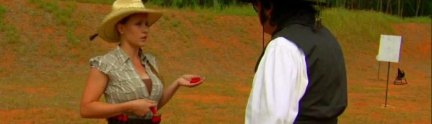Jessie Abbate aka Jasmine Jessie Demonstrates High-Speed Shotgun Loading