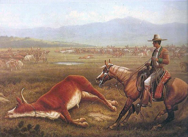 cowboy history - Vaqueros