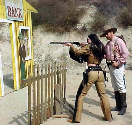 Cowboy Action Shooting contestant 2