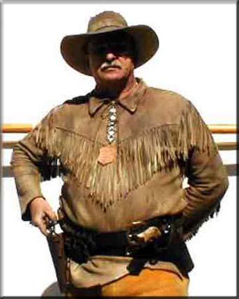 cowboy shooting character