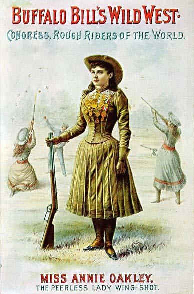 female shooter annie oakley
